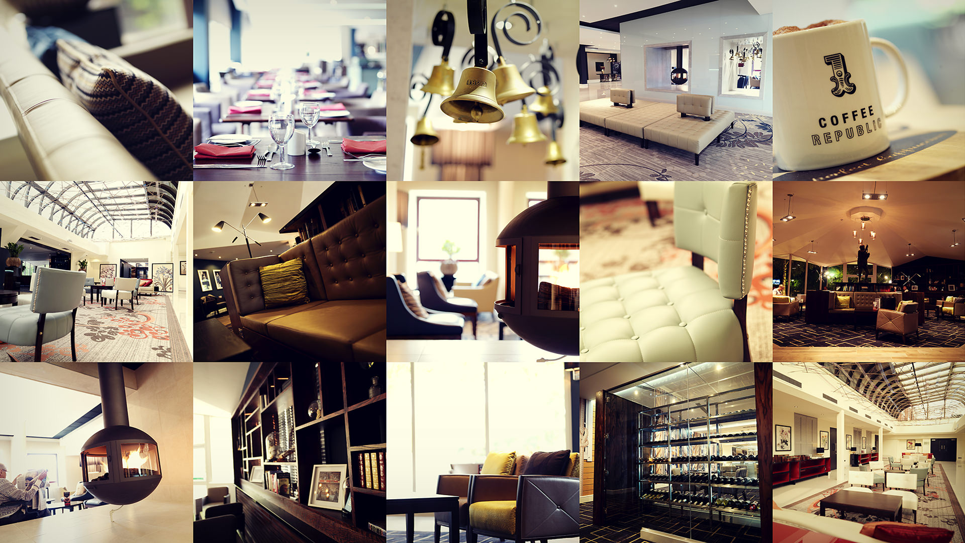 Commercial interior photographer hotels shops