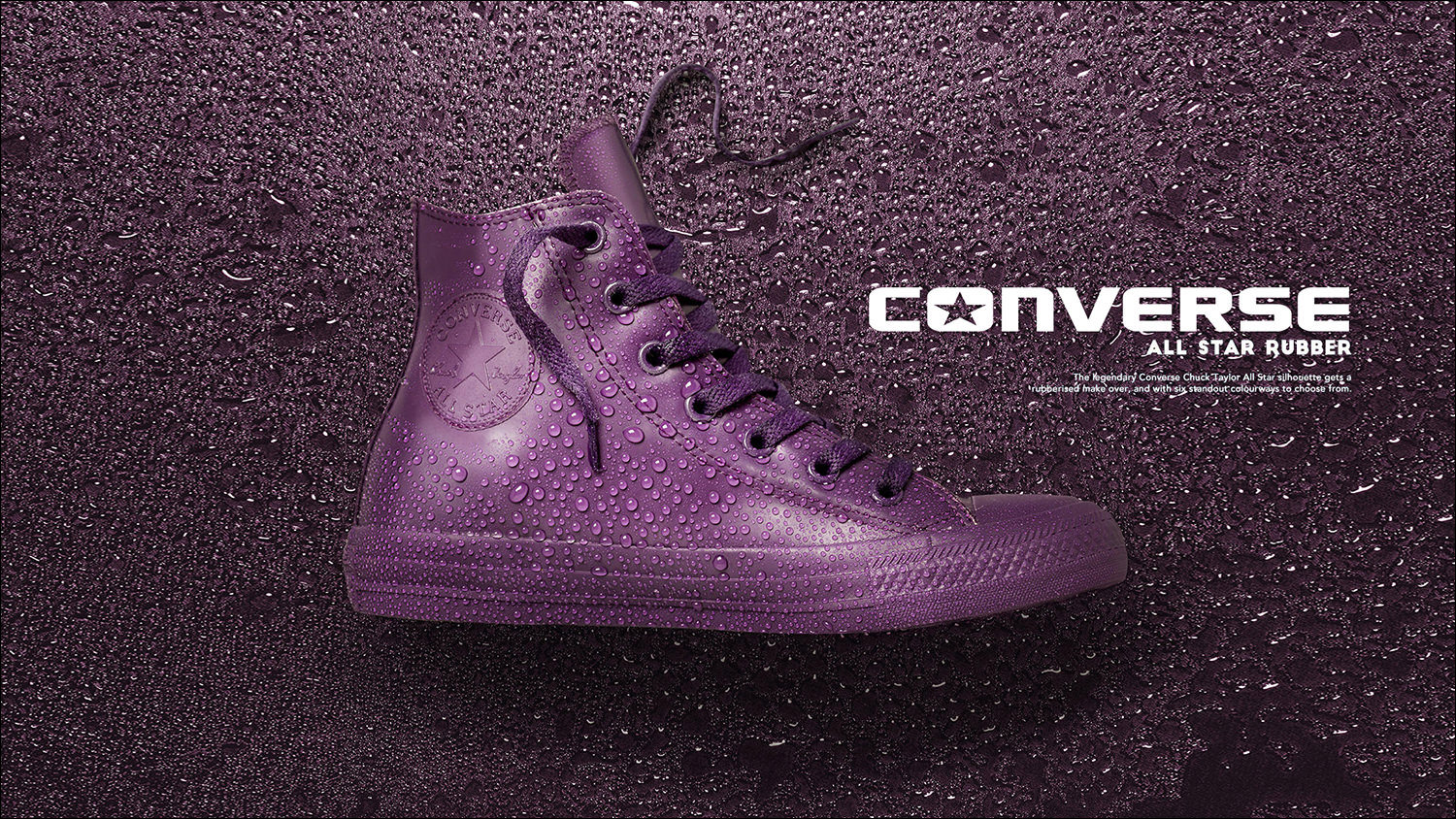 Creative studio still life fashion shoot for Converse footwear