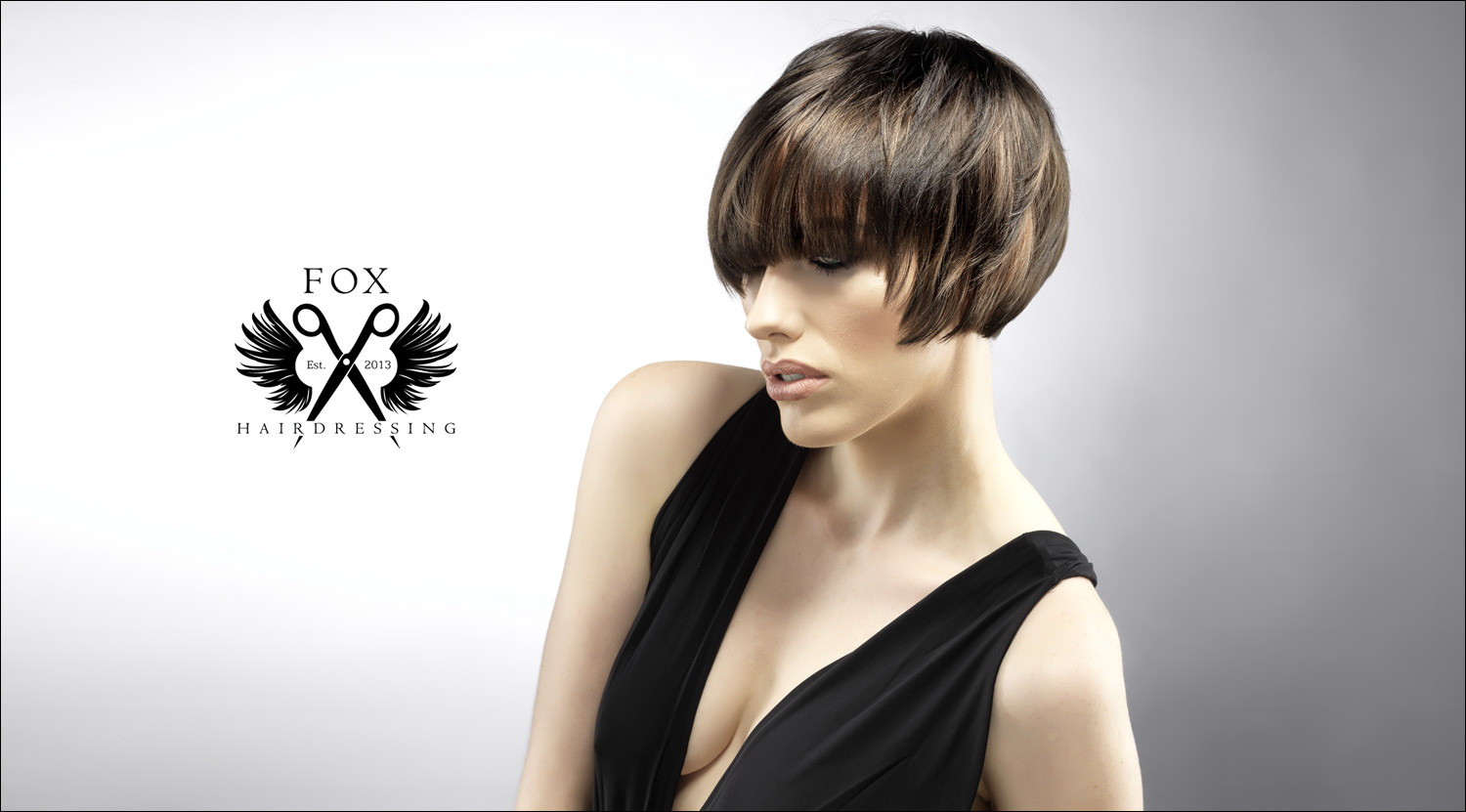 hair photographer Matthew Seed shot this range of images for a hair salon to enter the London hair awards.