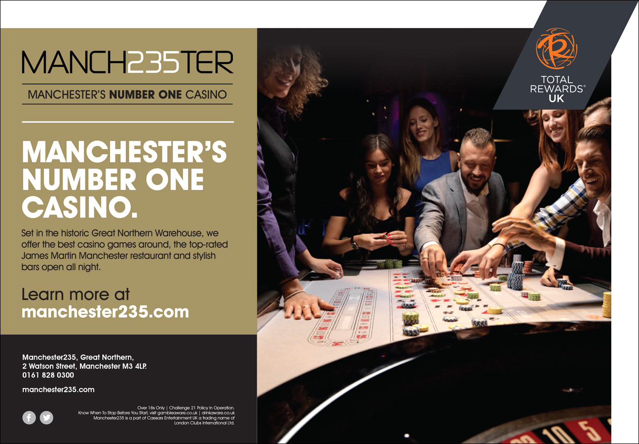 lifestyle photographer Matthew Seed shot this campaign on location at a casino in Manchester.