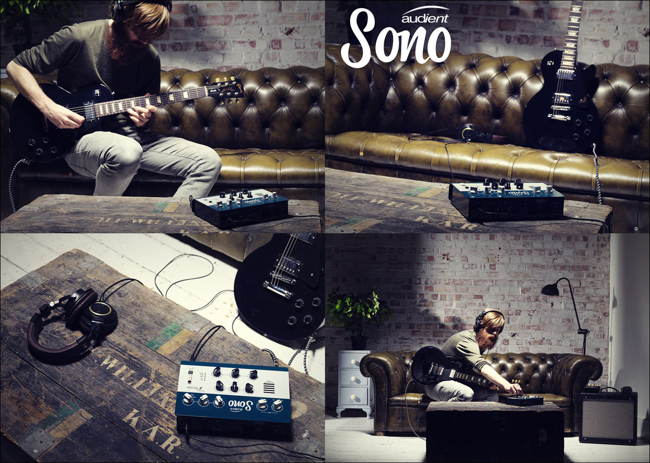 Music recording studio brand Audient brought out a new product called a Sono and we went to London to shoot this brand campaign in a great location studio.
